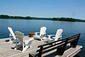 Dock at Wan-Da-Wa cottage