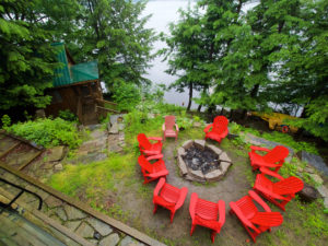 Fire Pit at Blue Jay Away