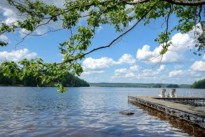 lake view and dock