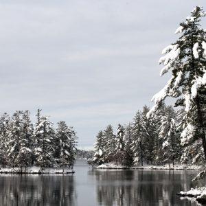 Calendar Muskoka Winter Lake Rosseau 3 Dec